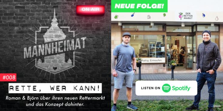 Podcast zum Rettermarkt - jetzt auf Spotify
